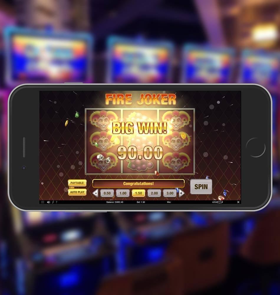 Fire Joker Slot Game Big Win