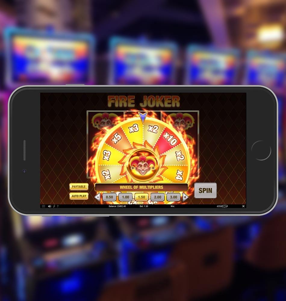 Fire Joker Slot Game Wheel of Multipliers