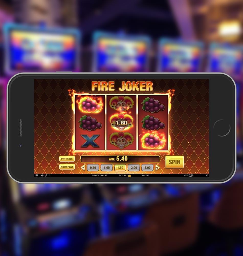 Fire Joker Slot Game Win