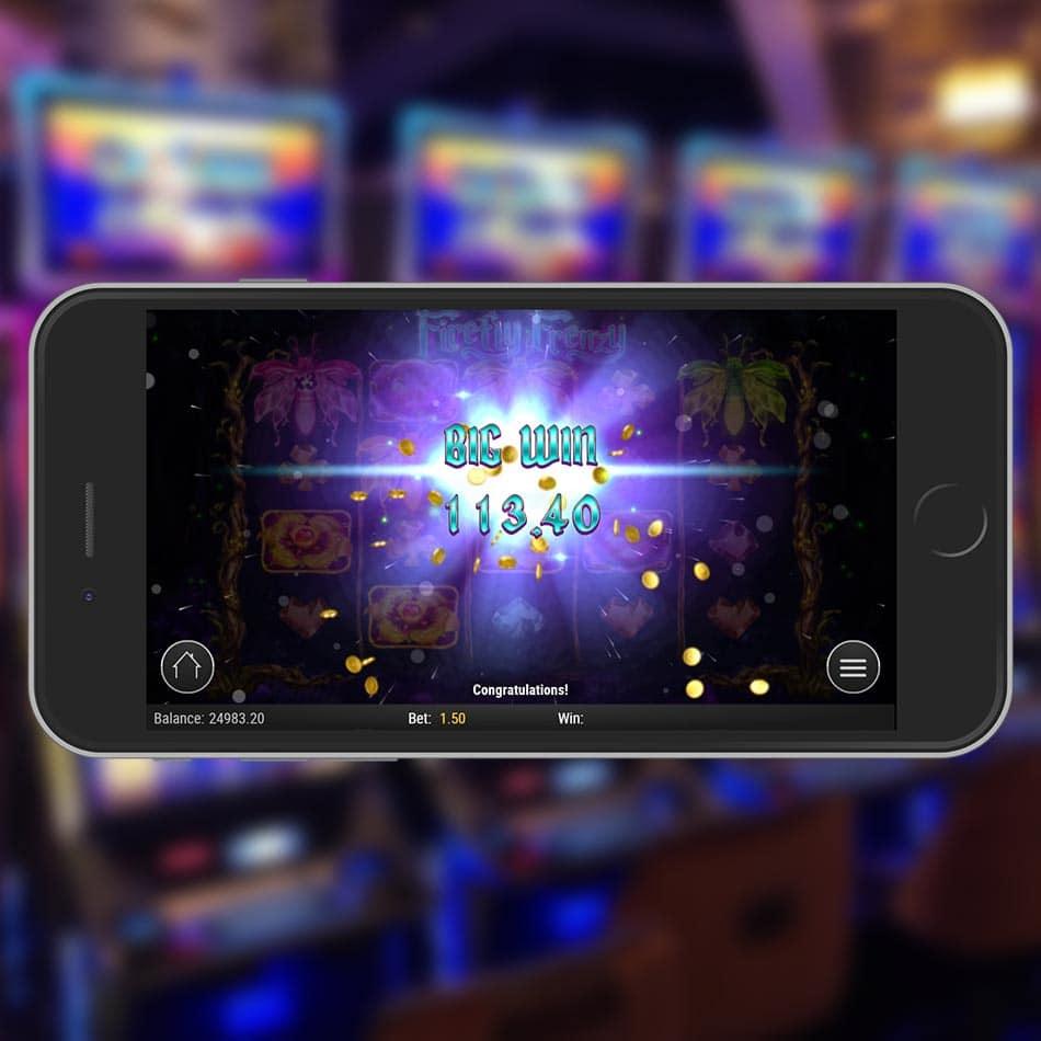 Firefly Frenzy Slot Machine Big Win