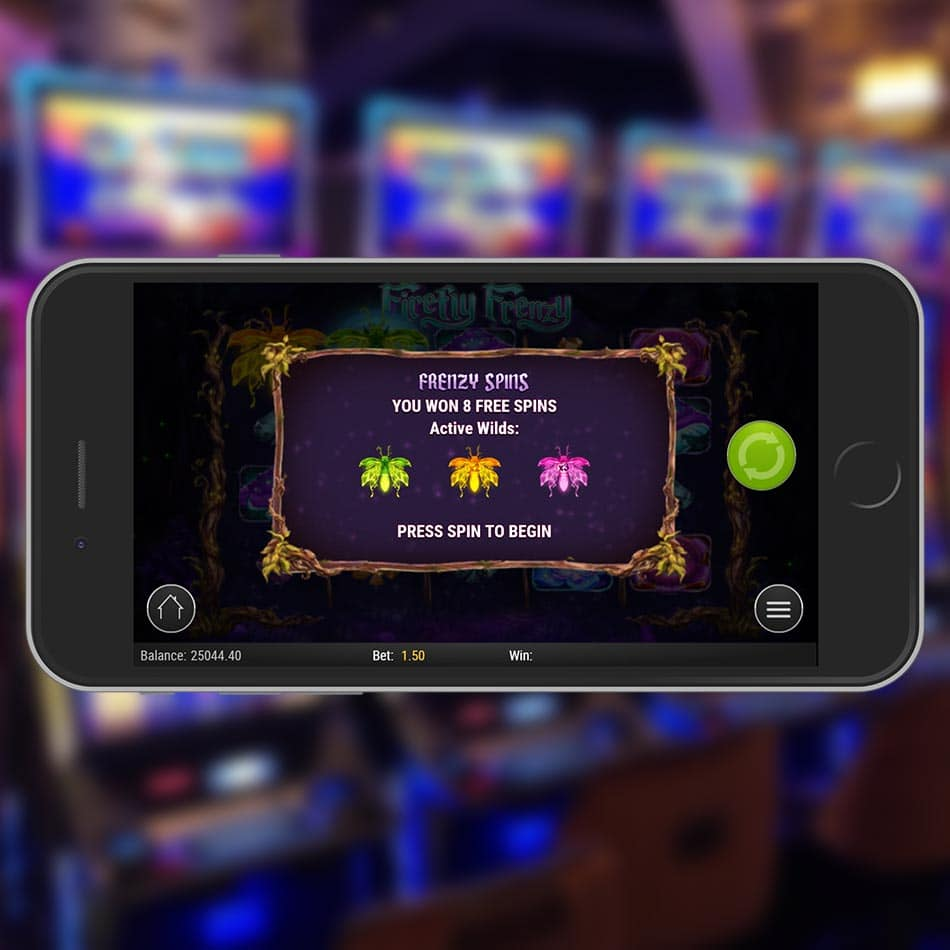 Firefly Frenzy Slot Machine Free Spins Feature
