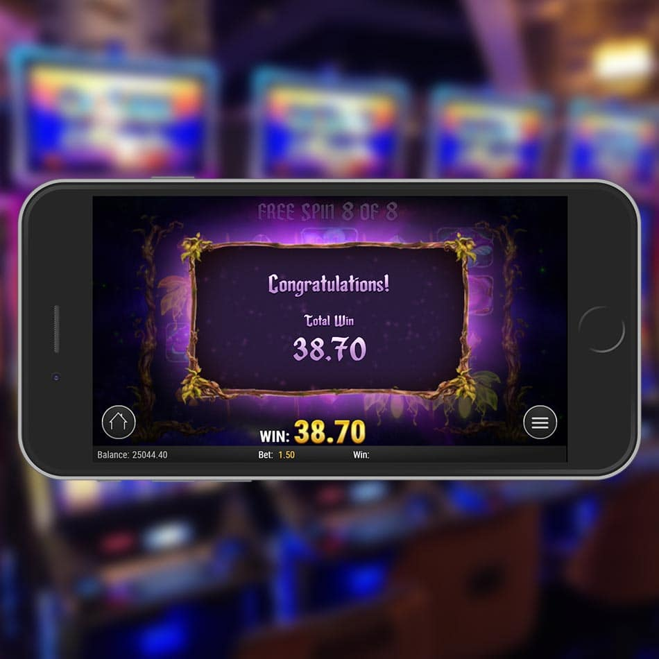 Firefly Frenzy Slot Machine Free Spins Total Win