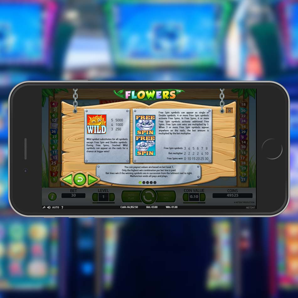 Flowers Slot Demo Game Rules
