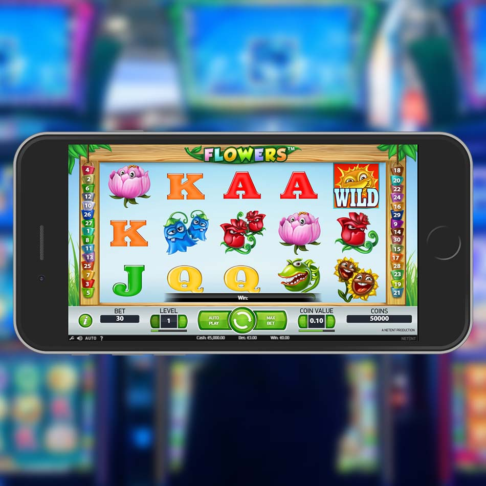 Flowers Slot Demo Home Page