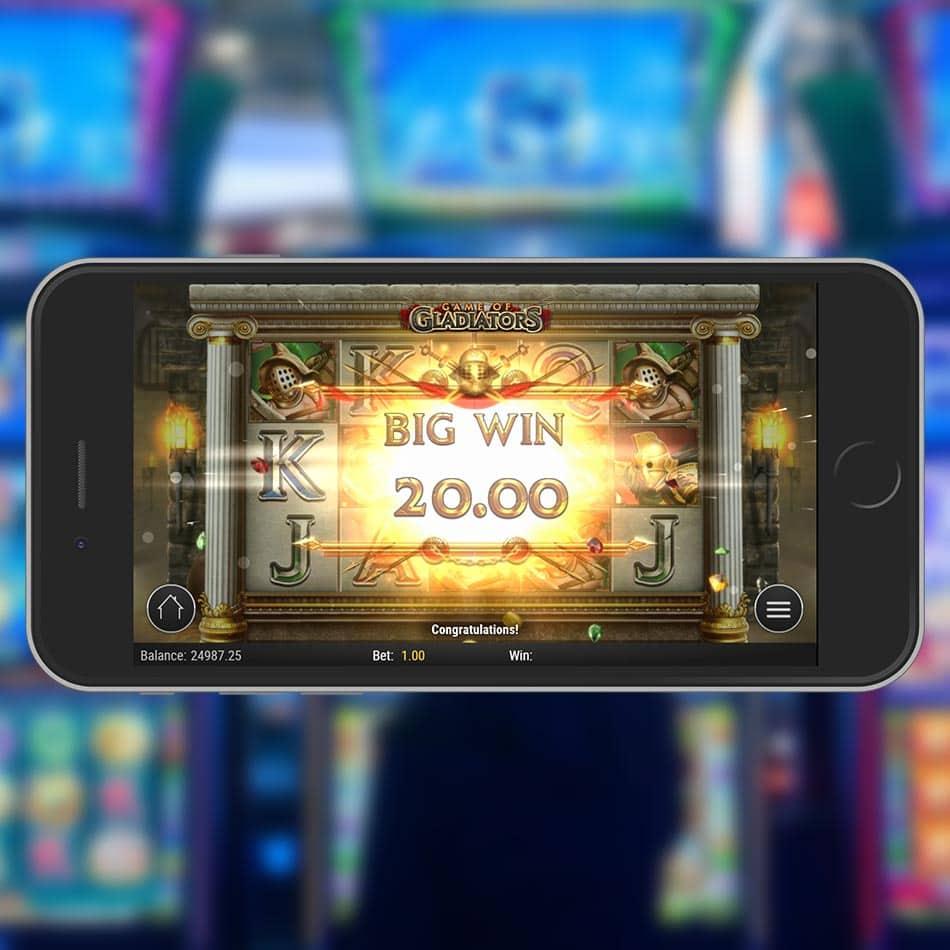 Game of Gladiators Slot Machine Big Win