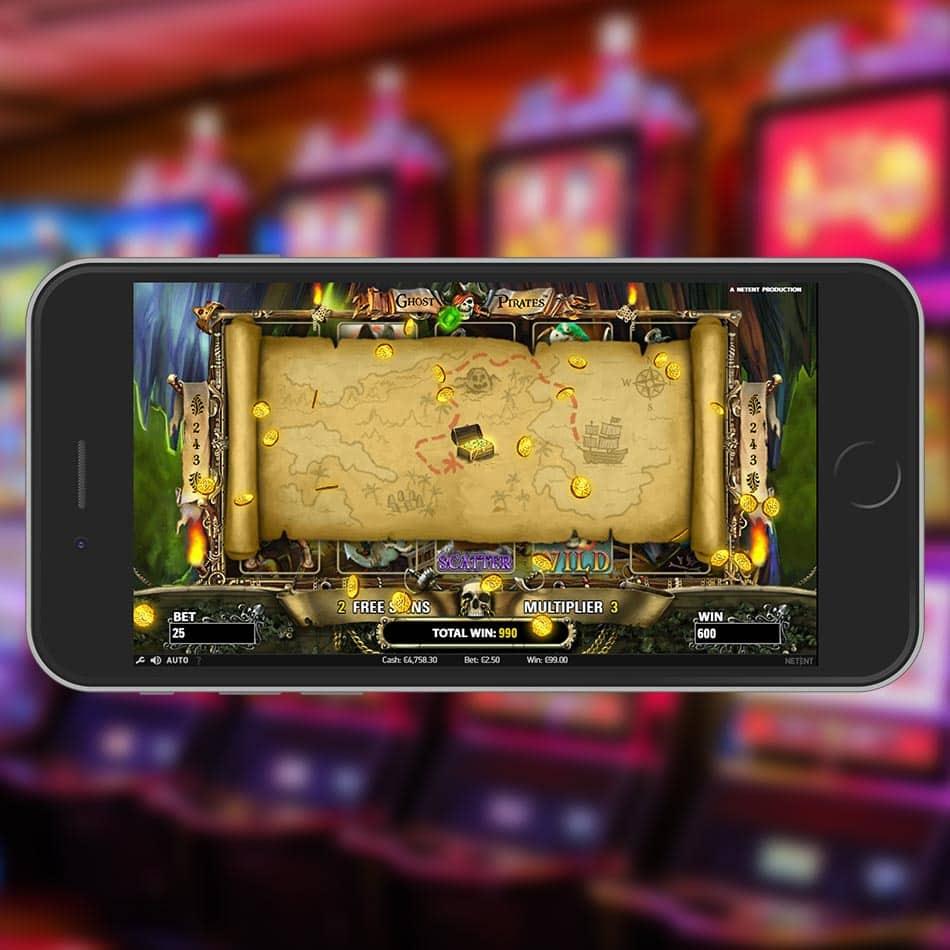 Ghost Pirates Slot Machine Big Win