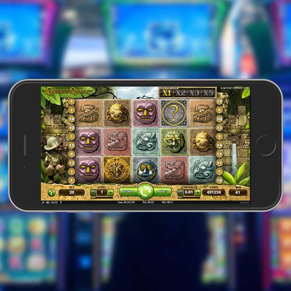 Gonzo's Quest Slot Machine Big Win Multiplier