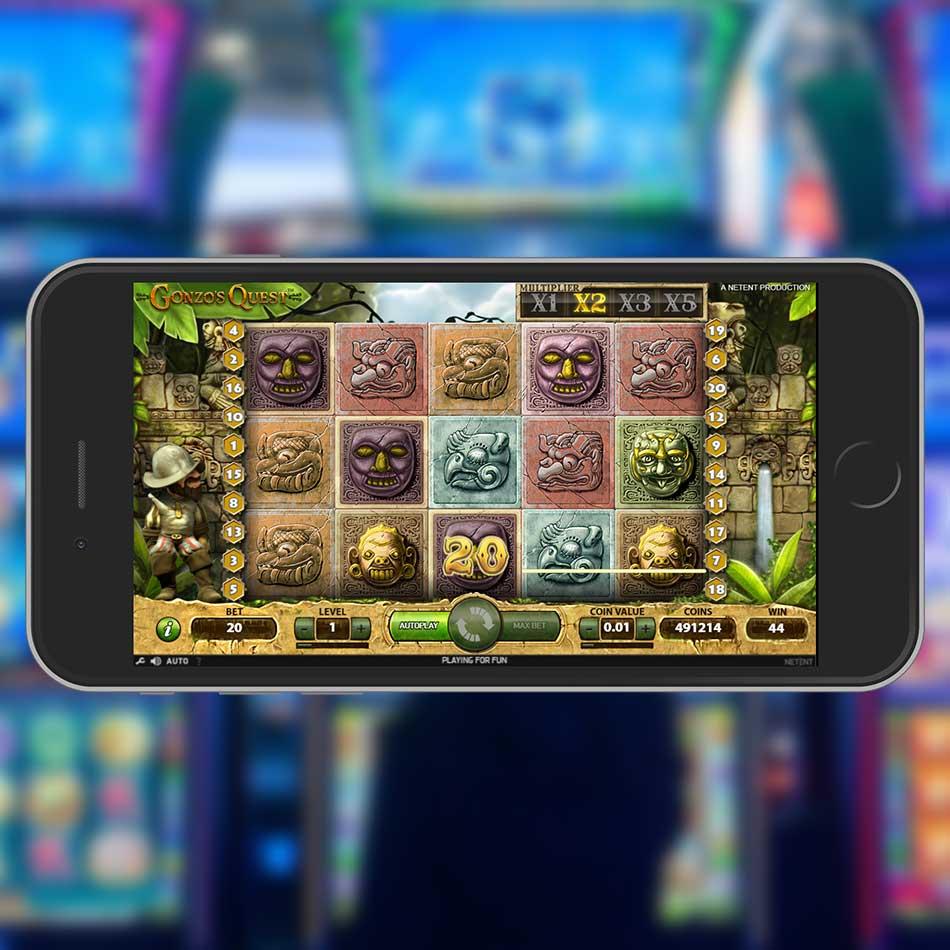 Gonzo's Quest Slot Machine Big Win