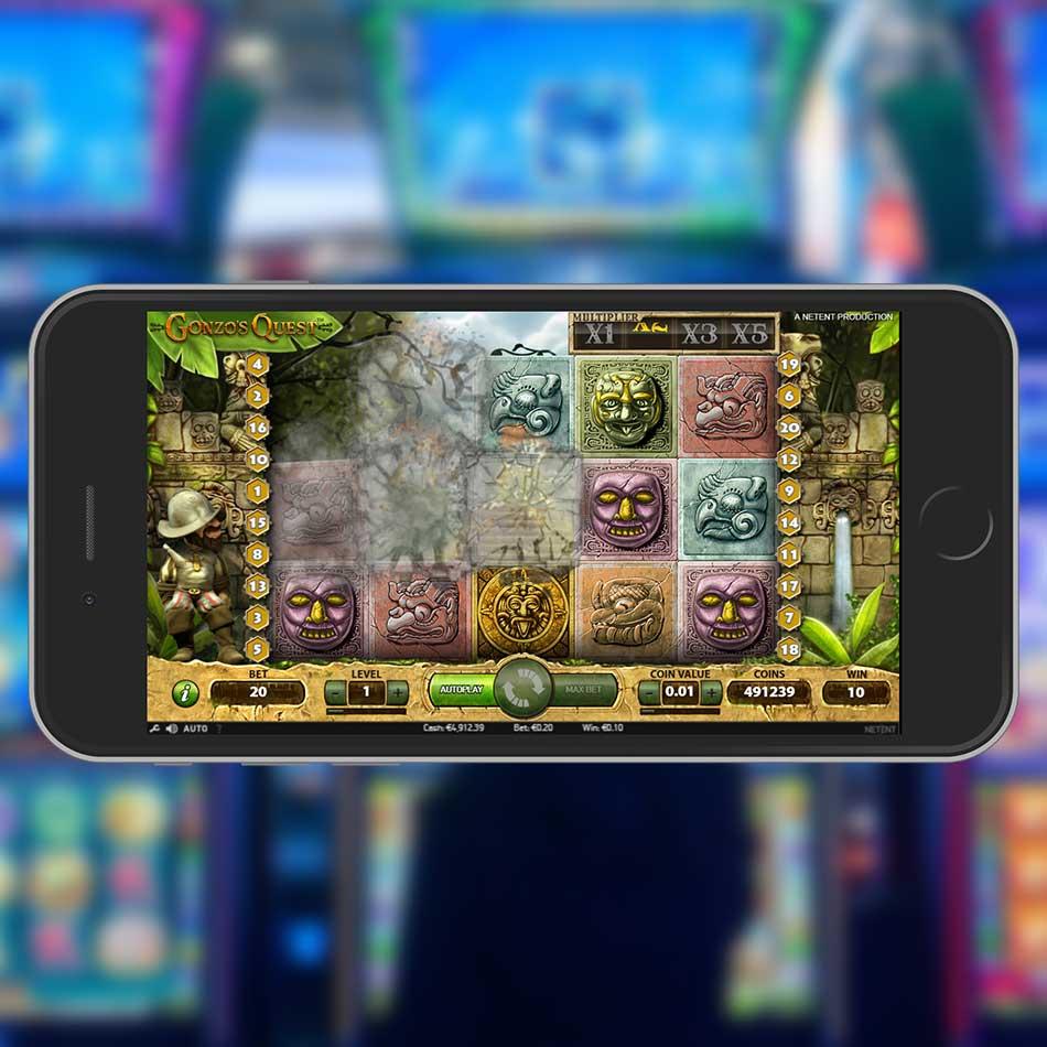 Gonzo's Quest Slot Machine Double Win