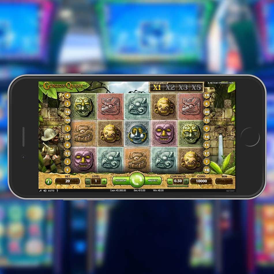 Gonzo's Quest Slot Machine Home Page