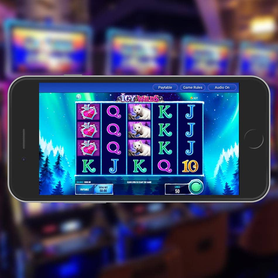Icy Wilds Slot Machine Review