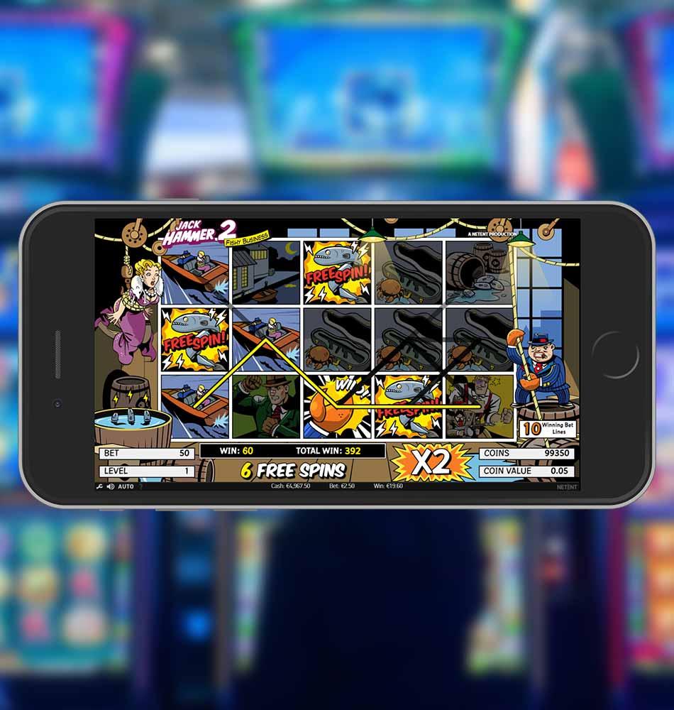 Jack Hammer 2 Slot Machine Free Spins Feature
