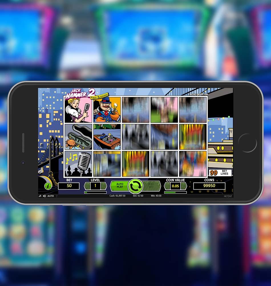 Jack Hammer 2 Slot Machine Spinning Phase