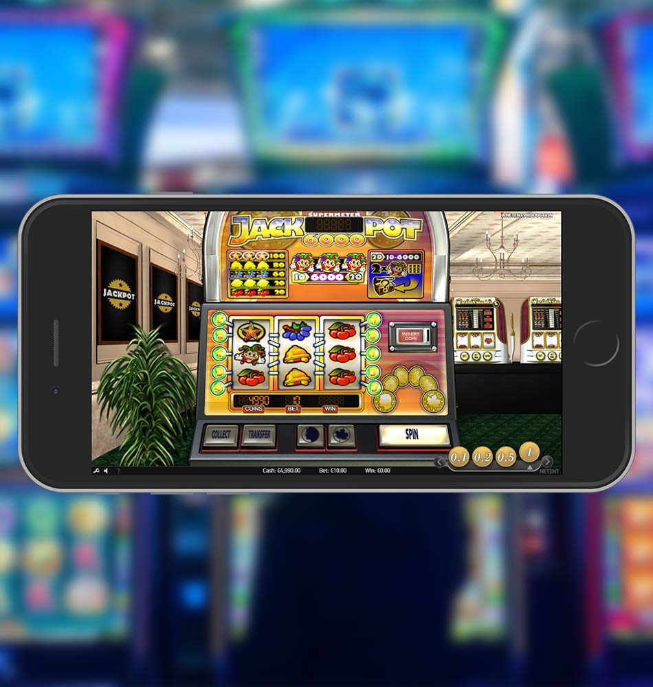 Jackpot 6000 Touch Slot Home Page
