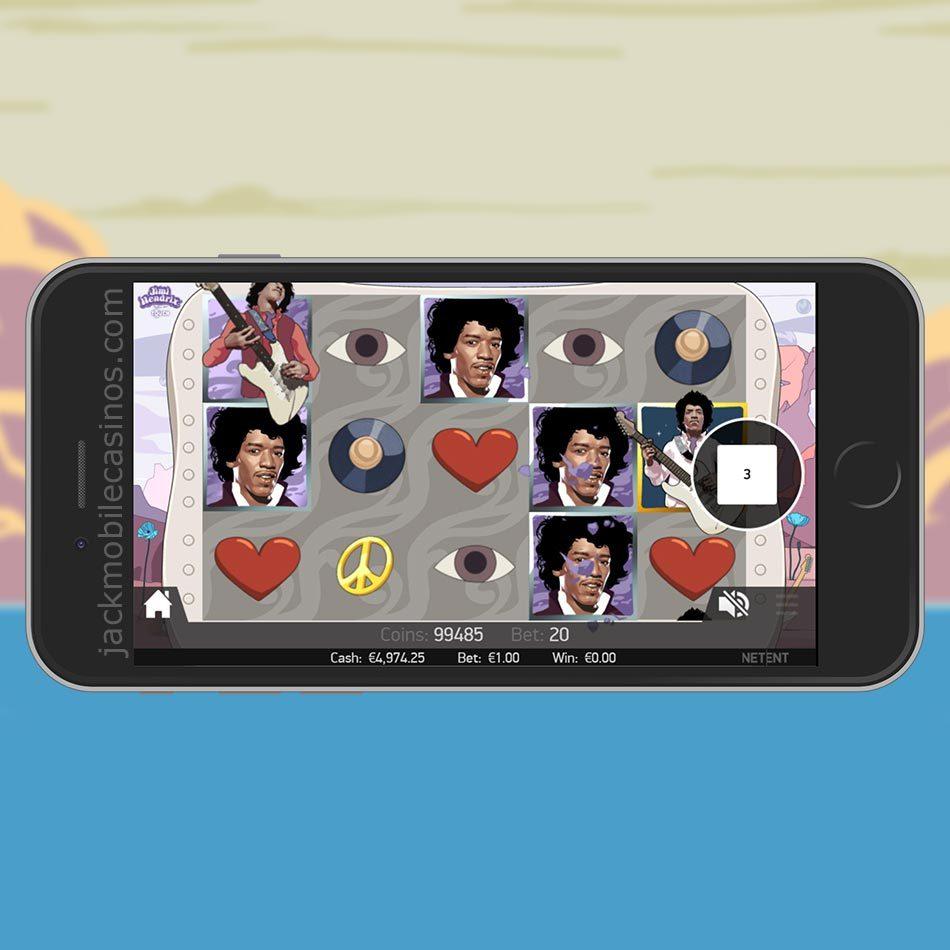 Jimi Hendrix Slot Machine