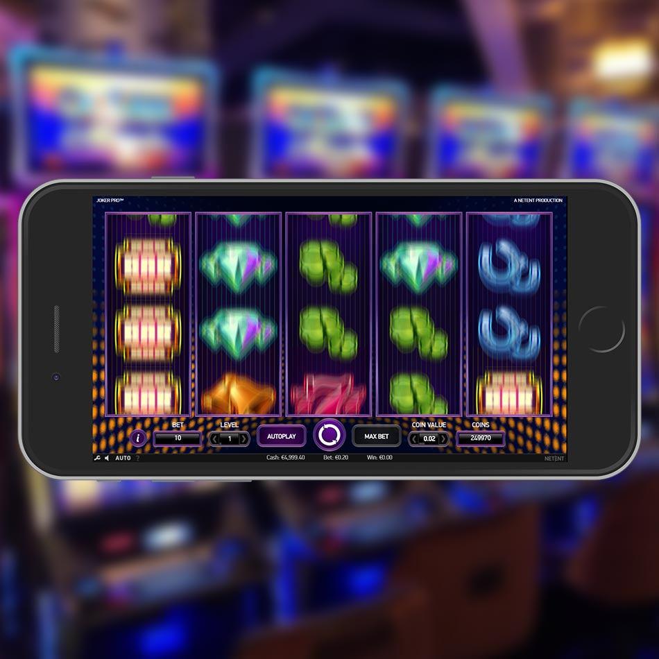 Joker Pro Slot Game Spinning Phase