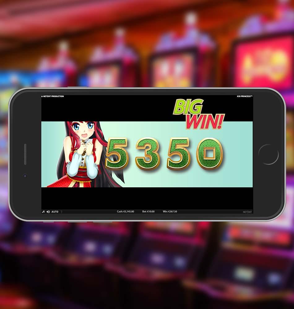 Koi Princess Slot Machine Big Win