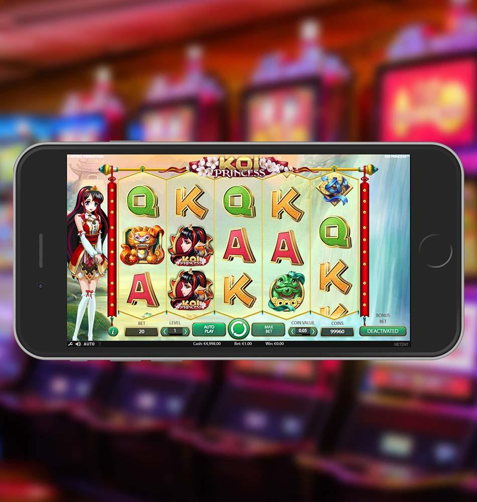 Koi Princess Slot Machine Home Page
