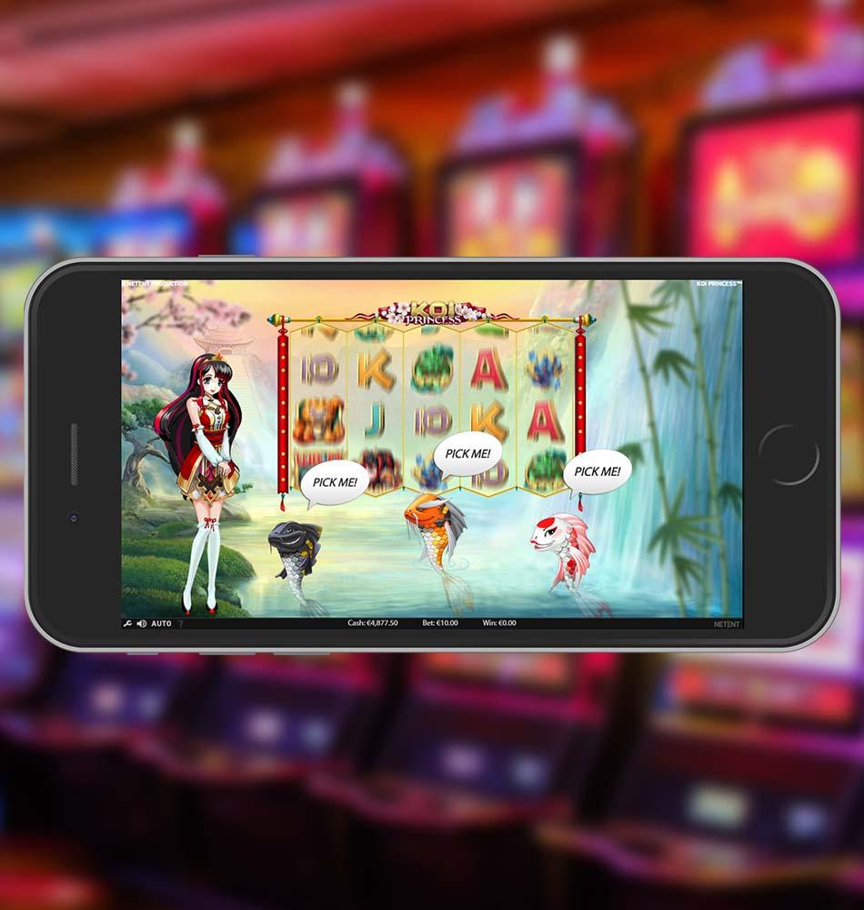 Koi Princess Slot Machine Special Feature