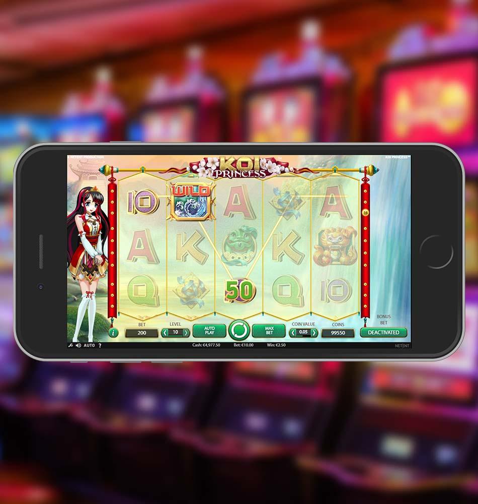 Koi Princess Slot Machine Win