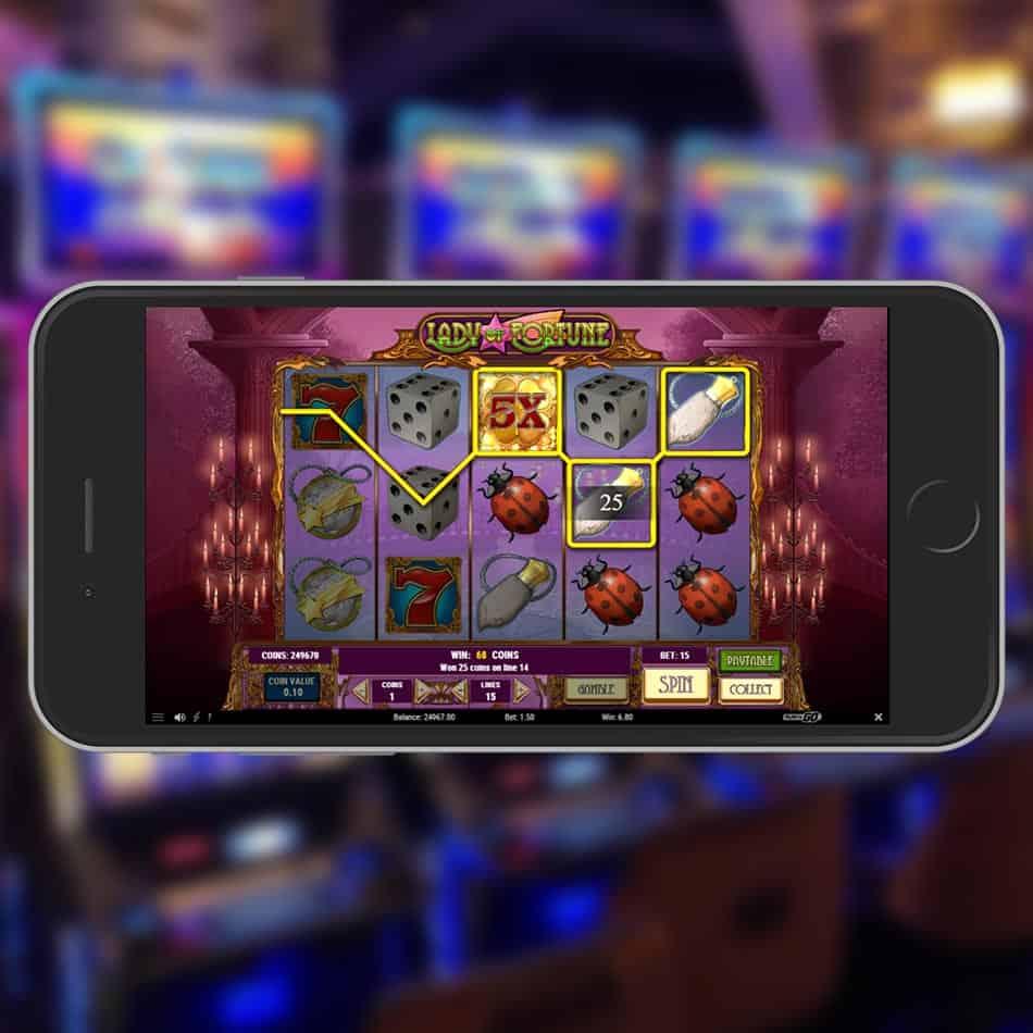 Lady Of Fortune Slot Machine Huge Win