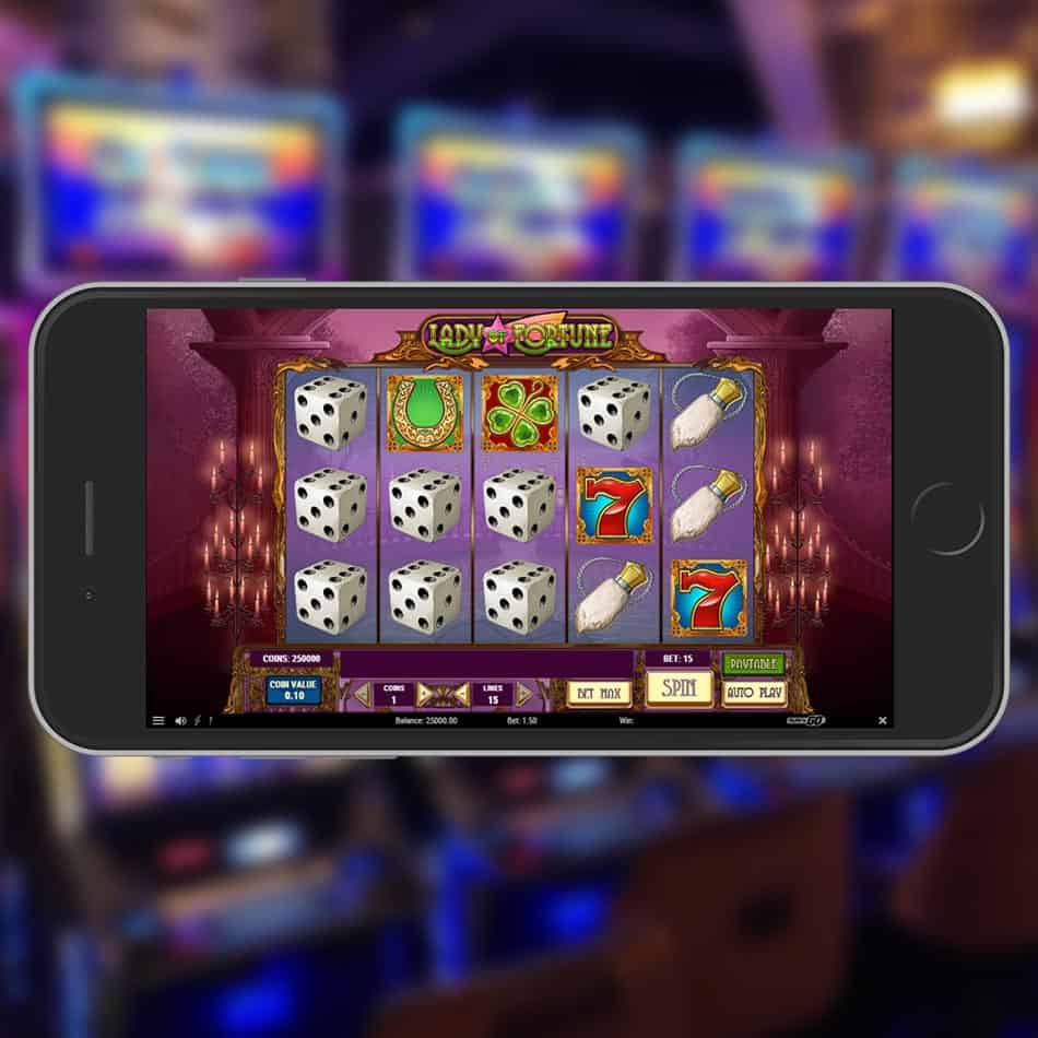 Lady Of Fortune Slot Machine Review