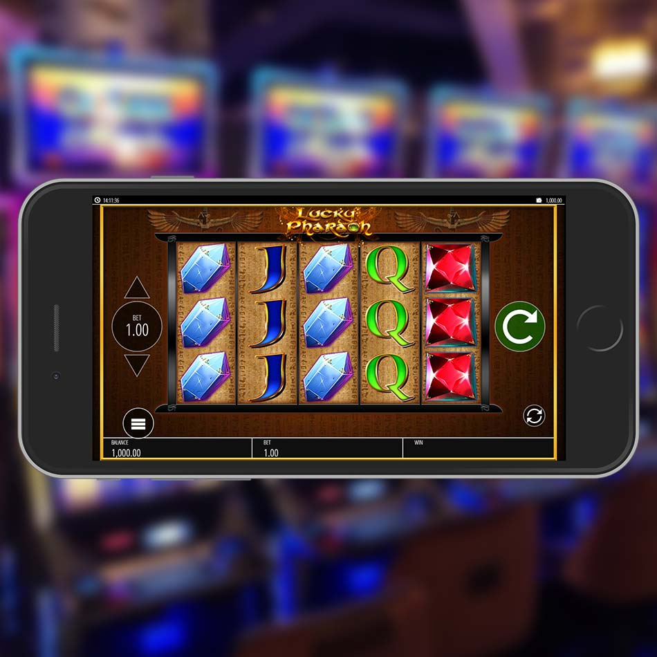 Lucky Pharaoh Slot Machine Home Page