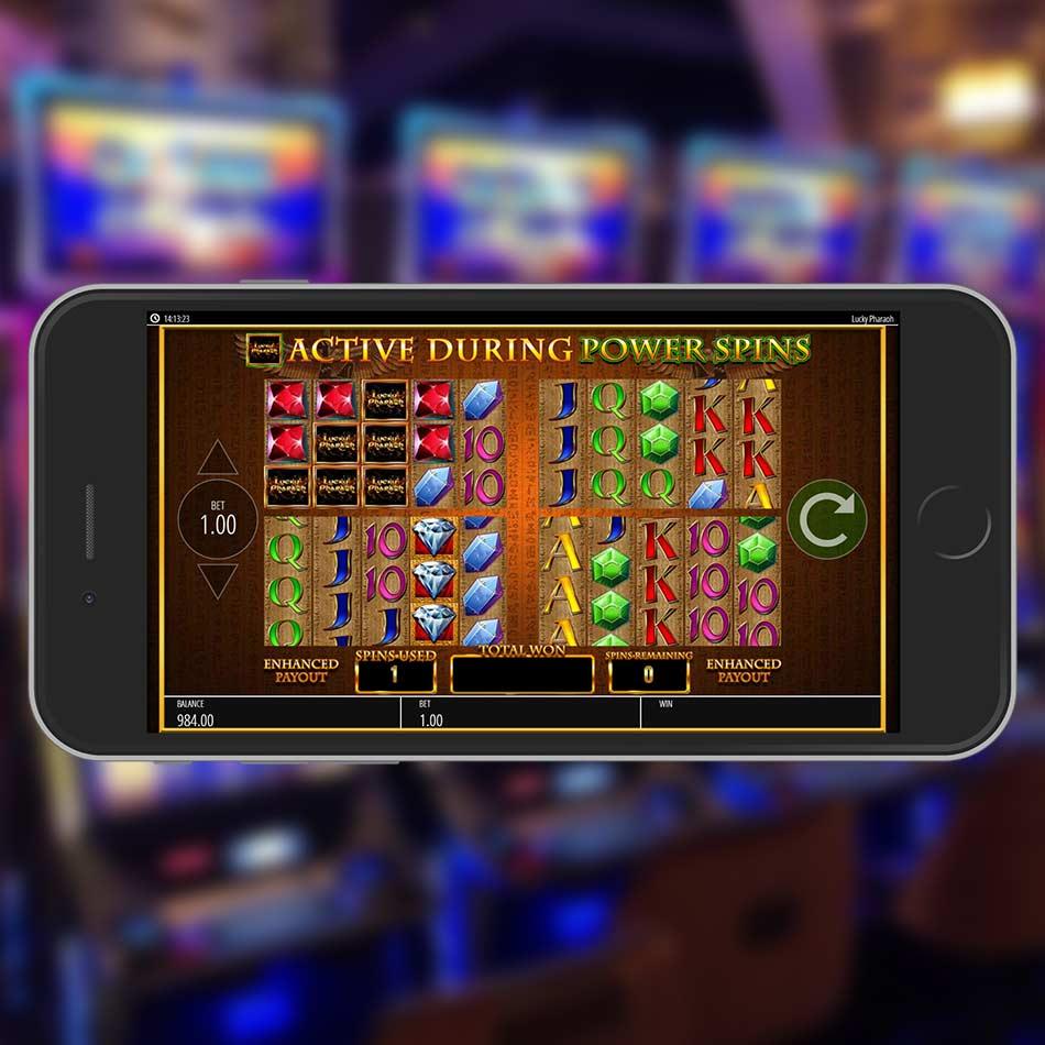 Lucky Pharaoh Slot Machine Power Spins