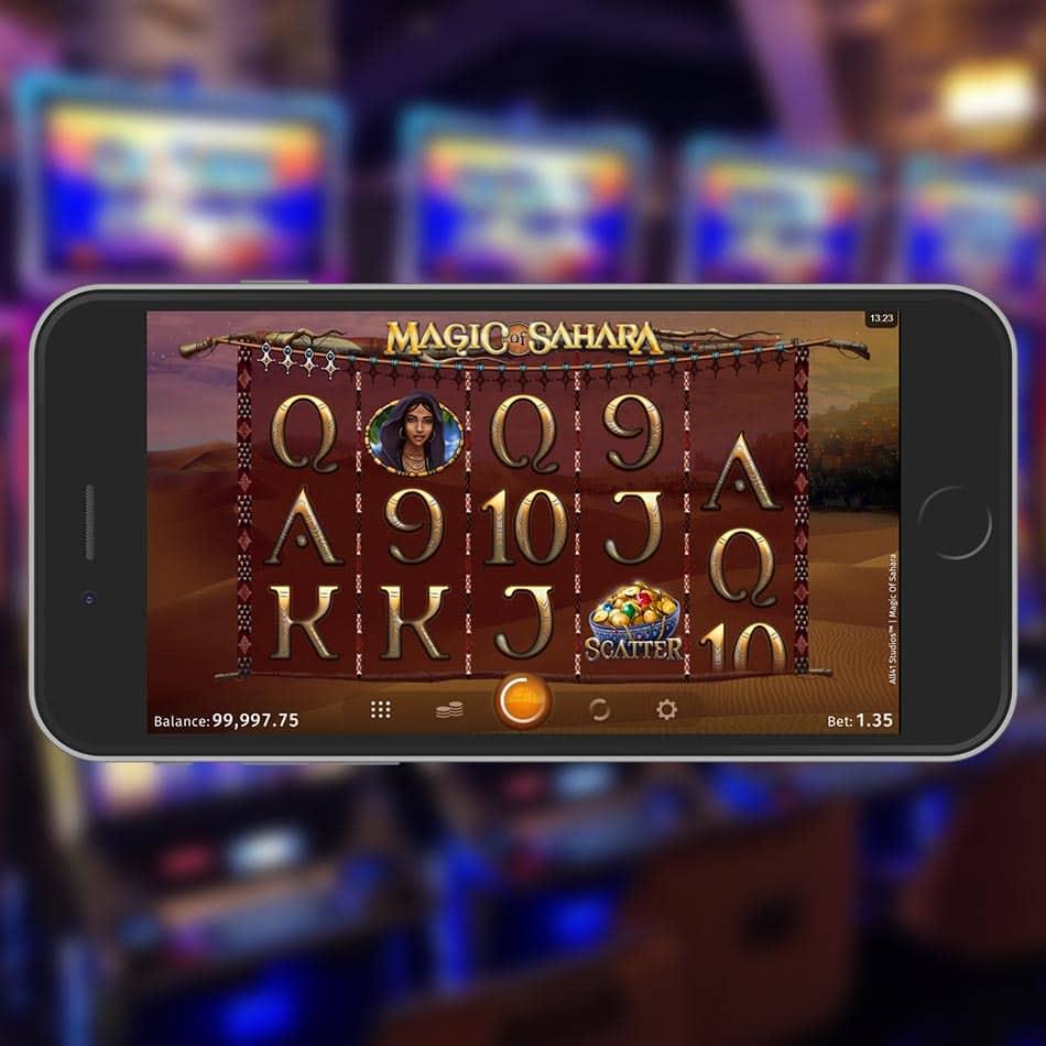 Magic of Sahara Slot Machine Free Play