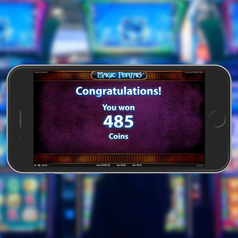 Magic Portals Slot Demo After Free Spins Win
