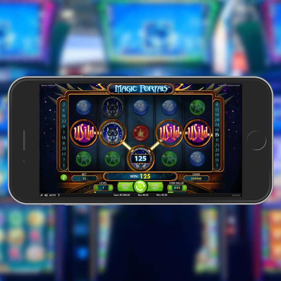 Magic Portals Slot Demo Big Win