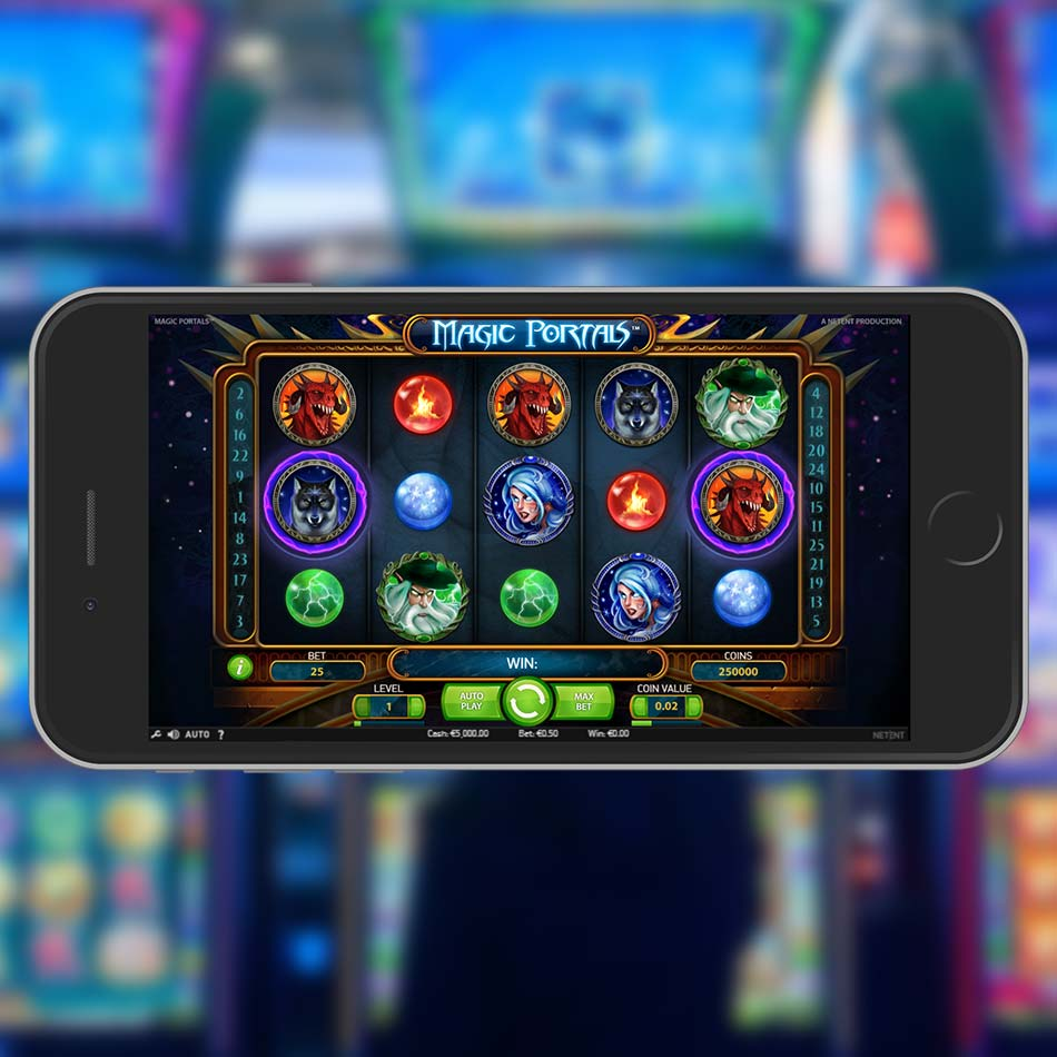 Magic Portals Slot Demo Home Page