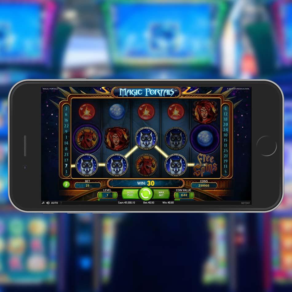 Magic Portals Slot Demo Win