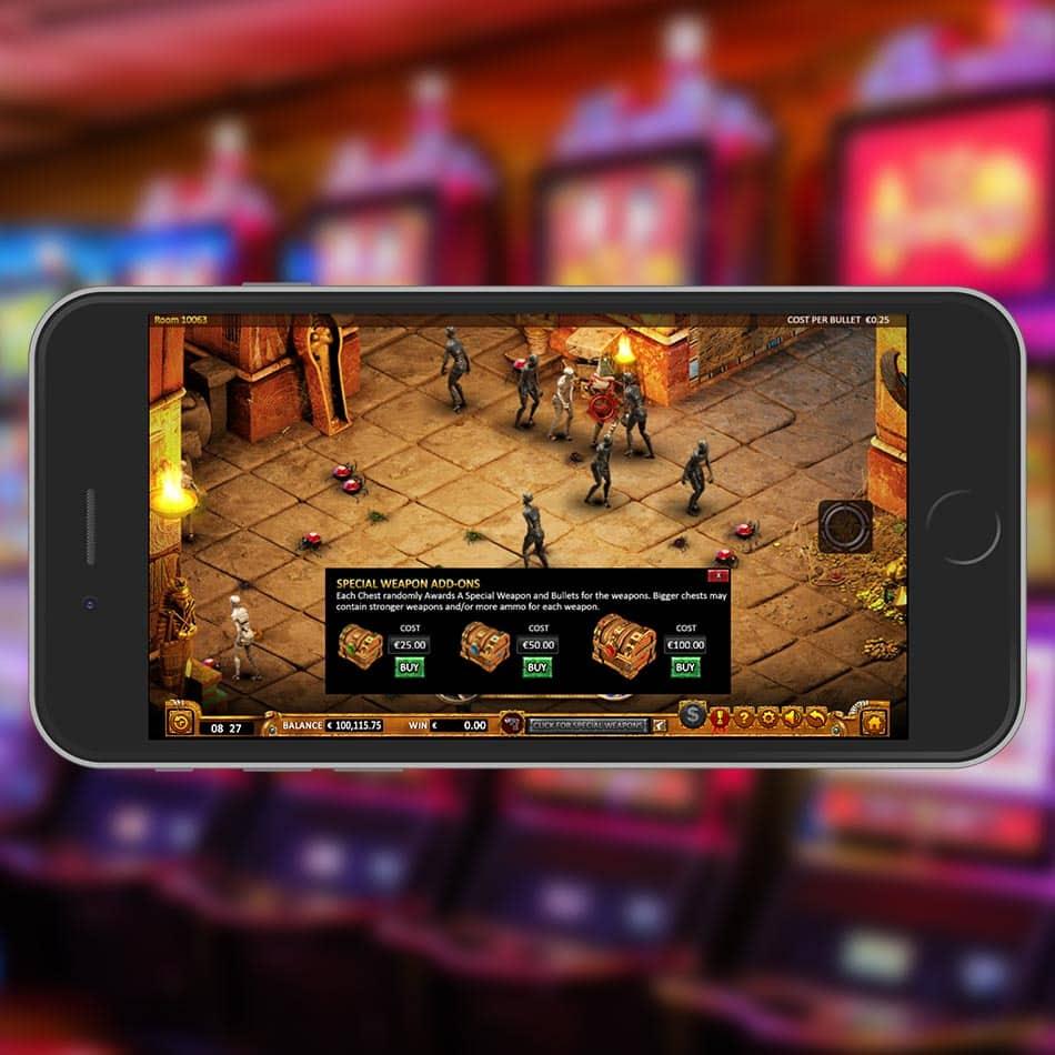 Max Quest: Wrath of Ra Slot Machine Bonus Chests Feature