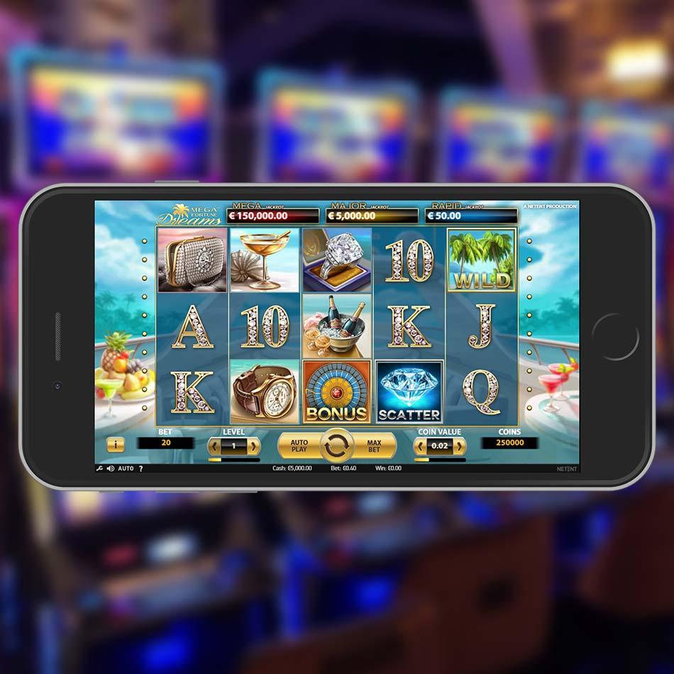 Mega Fortune Dreams Slot Machine Home Page