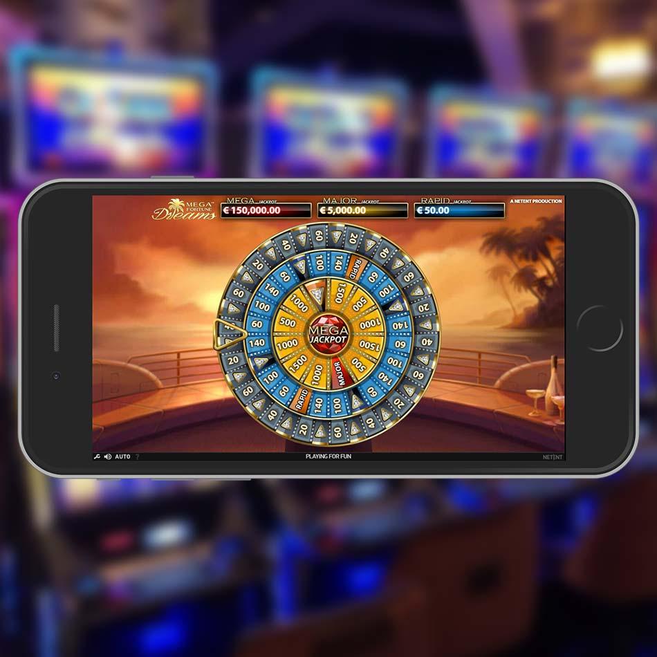 Mega Fortune Dreams Slot Machine Jackpot Spin