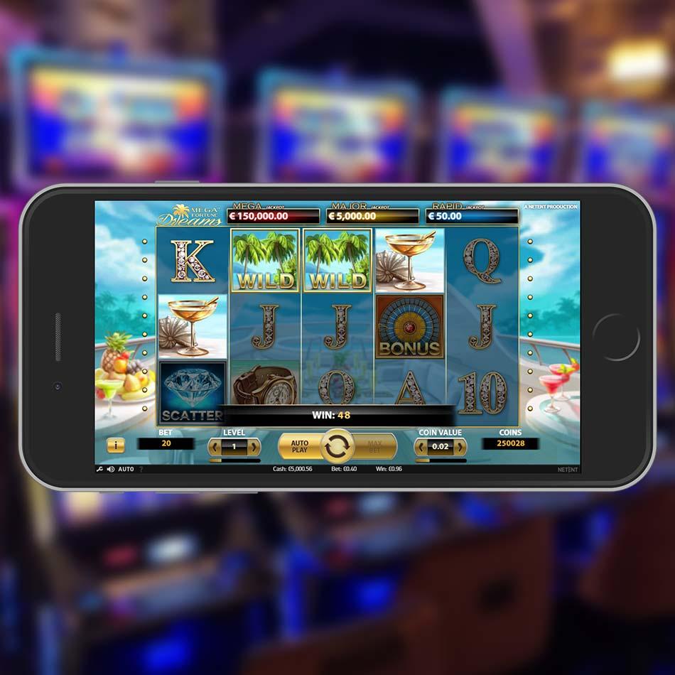 Mega Fortune Dreams Slot Machine Win