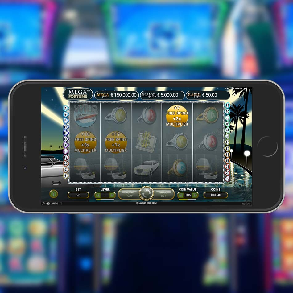 Mega Fortune Slot Machine Free Spins