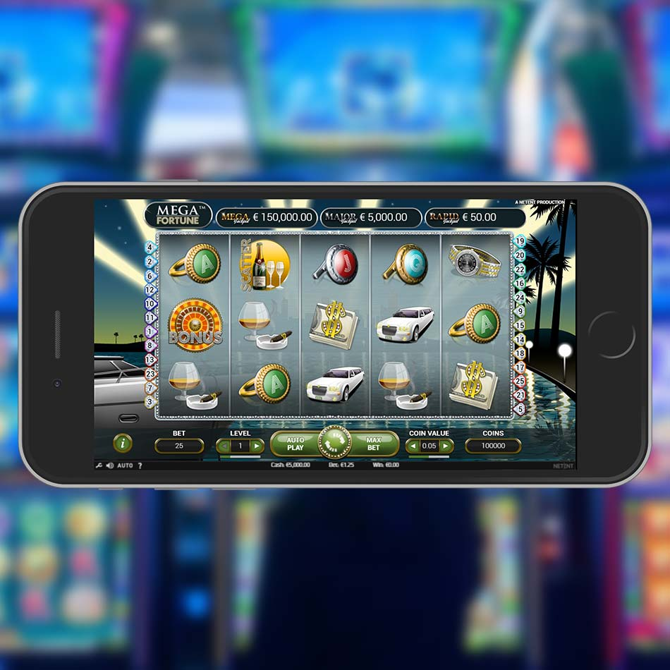 Mega Fortune Slot Machine Home Page