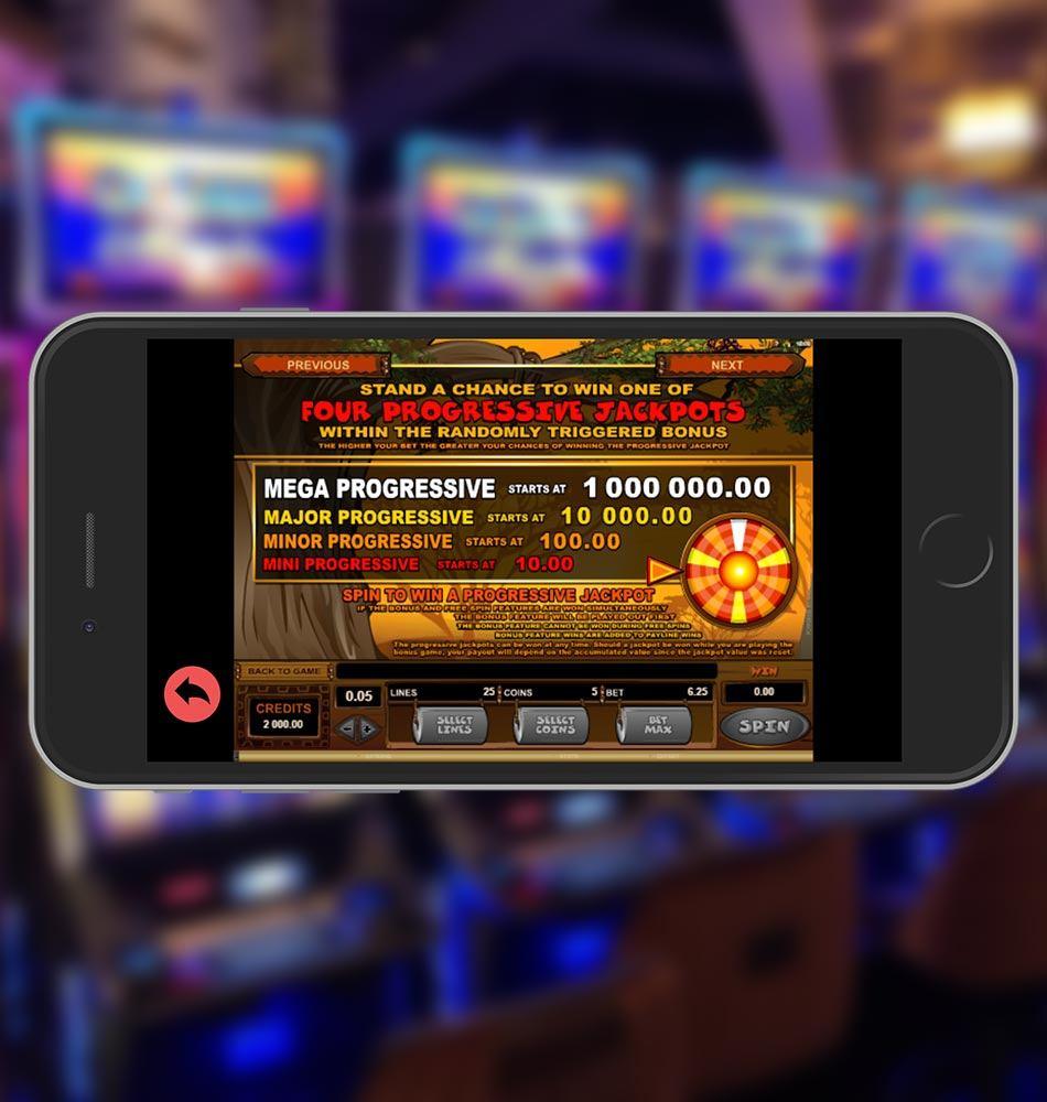 Mega Moolah Slot Machine Progressive Jackpot