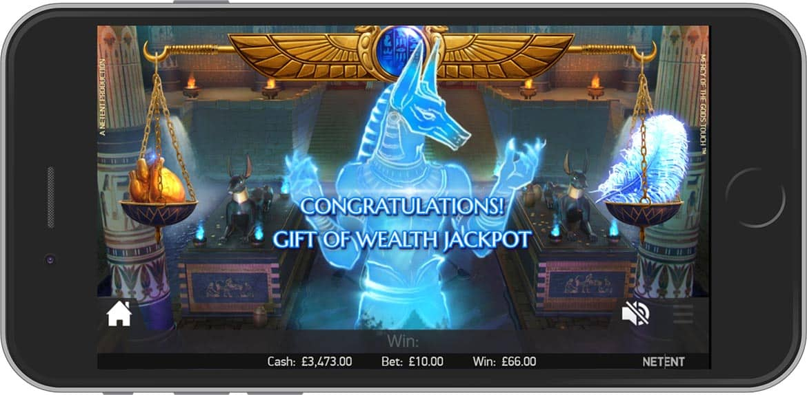 Mercy of the Gods Adventure Themed Slot by NetEnt