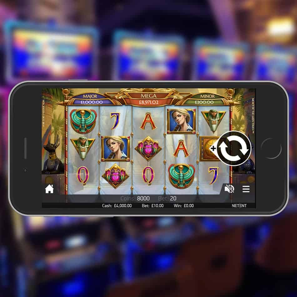 Mercy of the Gods Slot Machine Review