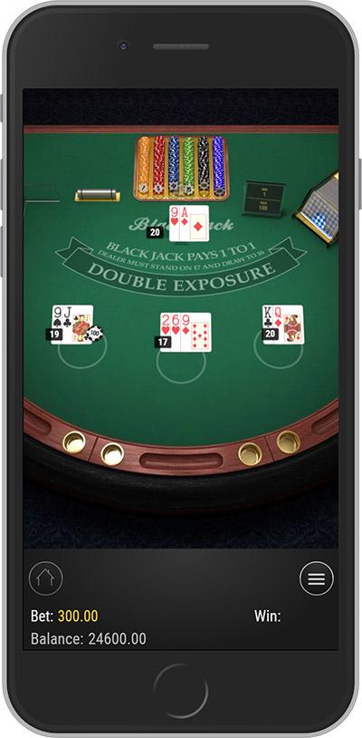 Multihand Mobile Blackjack by Play'n GO