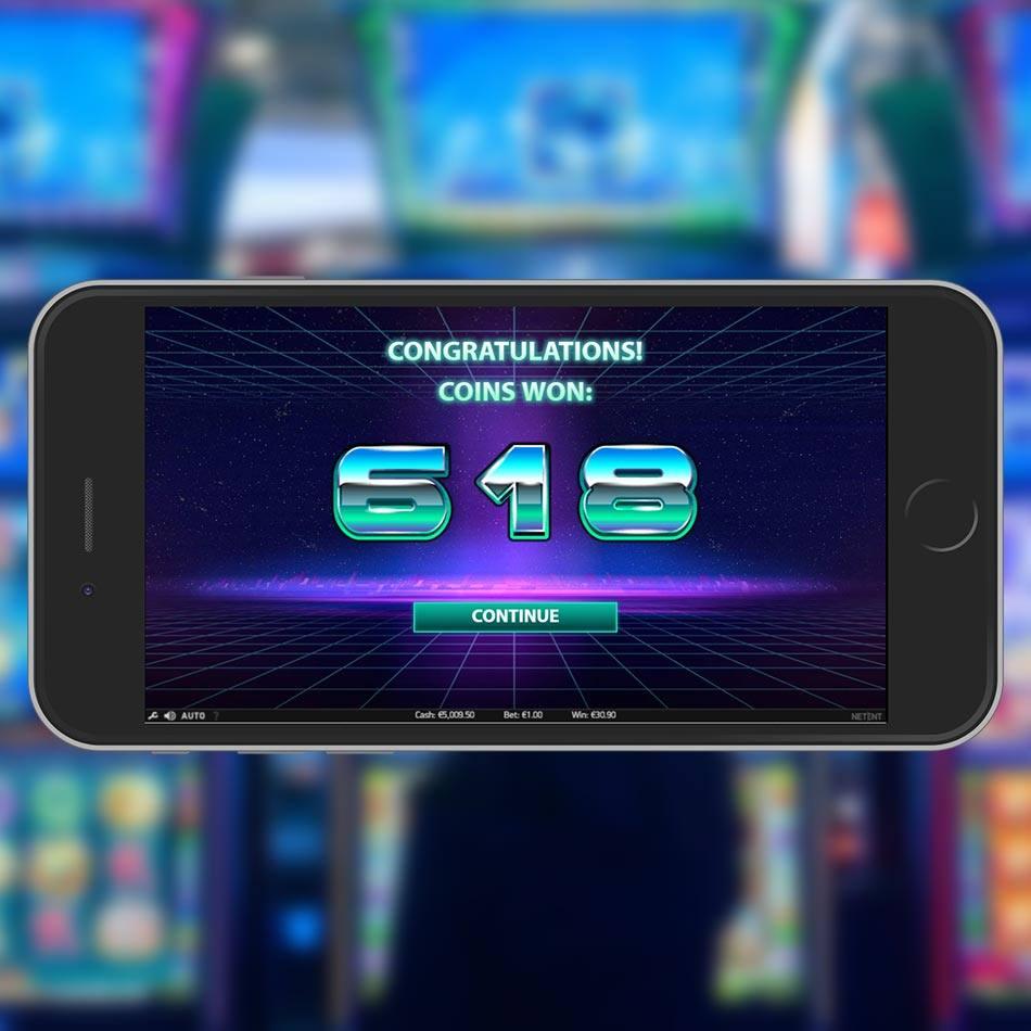 Neon Staxx Slot Machine Free Spins Win