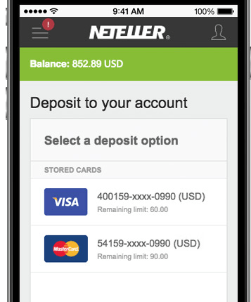 neteller mobile casinos