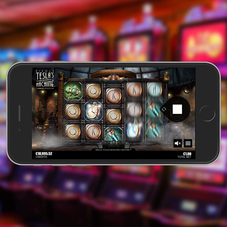 Nikola Tesla's Incredible Machine Slot Machine Free Play