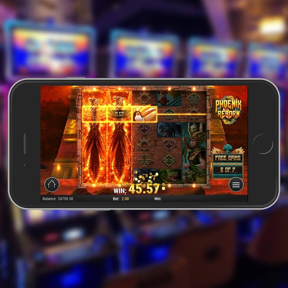 Phoenix Reborn Slot Machine Expanding Wilds