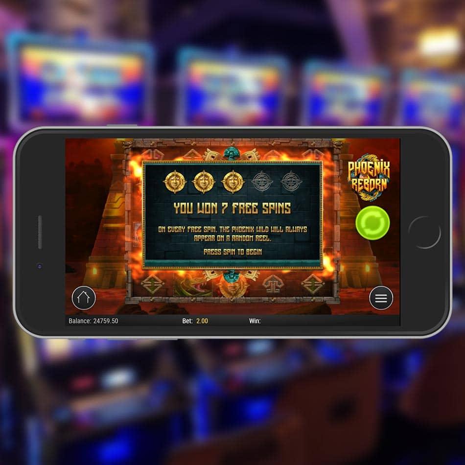 Phoenix Reborn Slot Machine Free Spins Feature