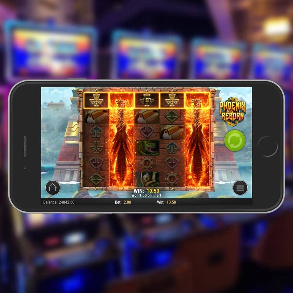 Phoenix Reborn Slot Machine Win