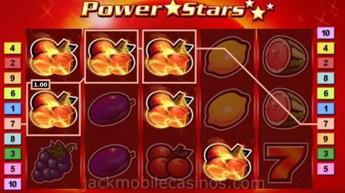 Power stars slot online gratis tragamonedas